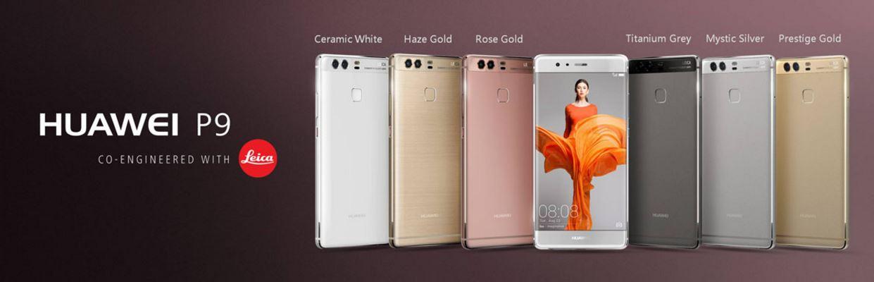 Huawei P9 range