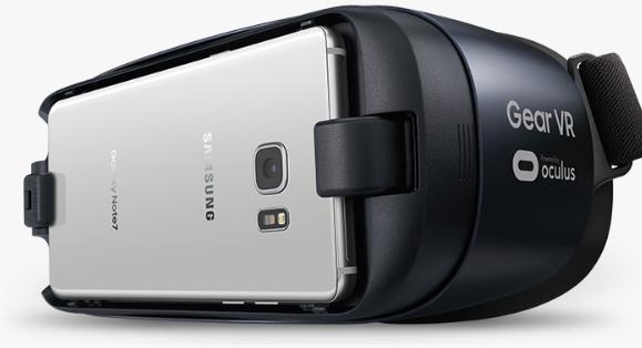 Samsung note 7 event oculus