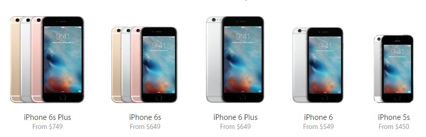 iphone portfolio 2015