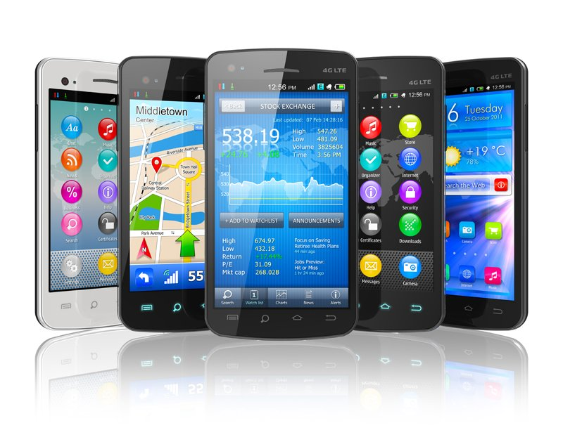 Bestselling smartphones