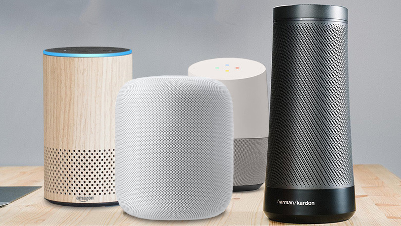 Smart Speakers from Amazon, Baidu, Xiaomi