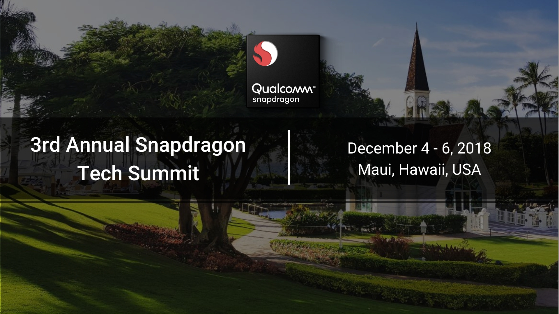 3rd Annual Snapdragon Technology Summit