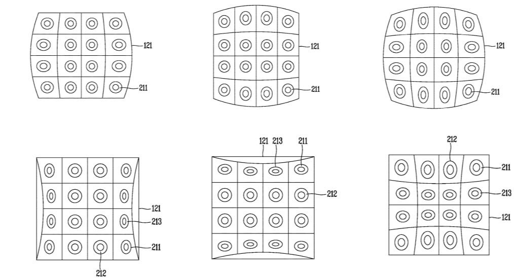 lg patent multiple cameras