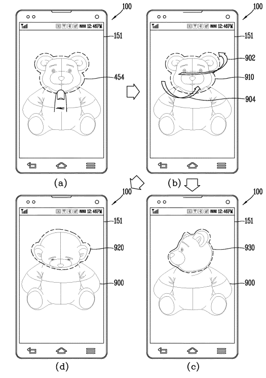 lg patent picture manipulation