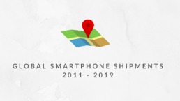 Global Smartphone Shipments 2011 - 2019