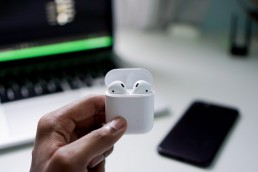 apple airpods | true wireless hearables