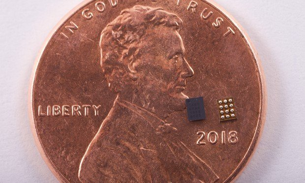 Syntiant's NDP100 voice-recognition chip