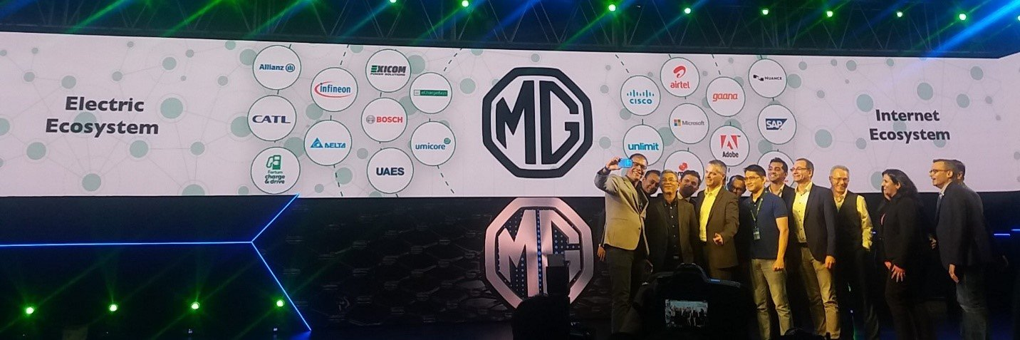 MG Electric Ecosystem
