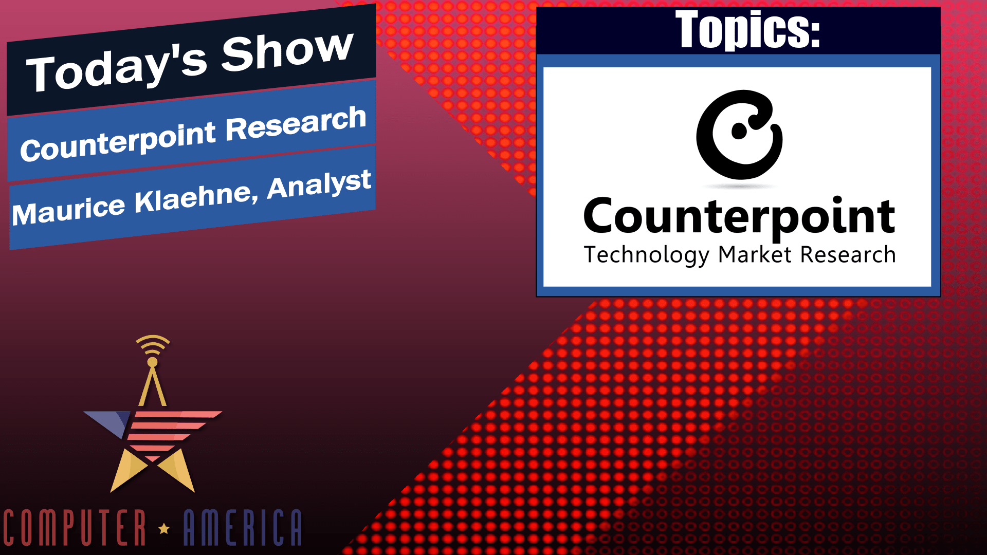 Computer America Featuring Maurice Klaehne Smart Phone, 5G Rollout, Gaming Phones