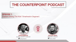 counterpoint podcast kids smartwatch