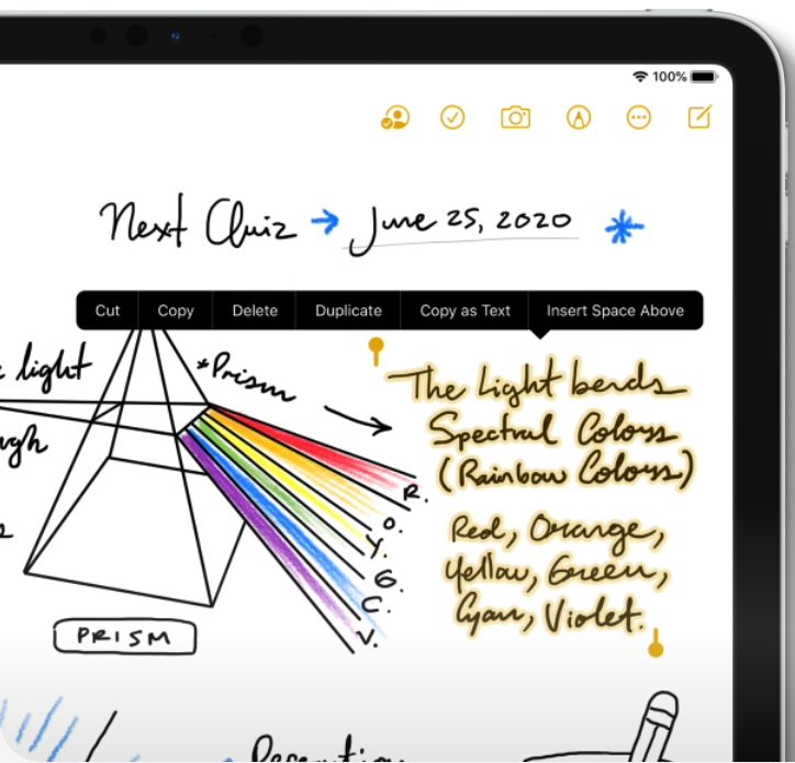counterpoint wwdc ipad handwriting