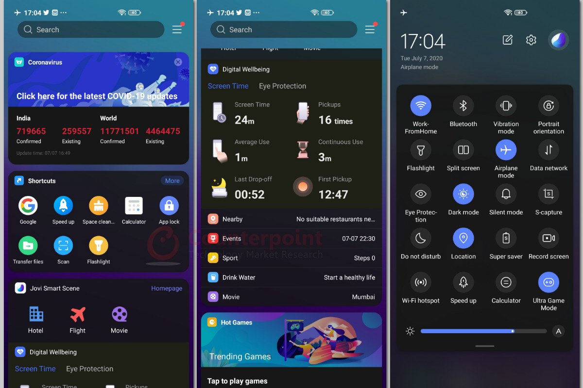 counterpoint vivo v19 review ui