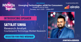 Webinar: Emerging Technologies: eSIM for Consumers Brought to You by Airalo