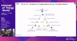 IoT World 2020 - 5G IoT & Edge - Neil Shah - Counterpoint Research -