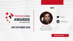 CommunicAsia Awards: Neil Shah