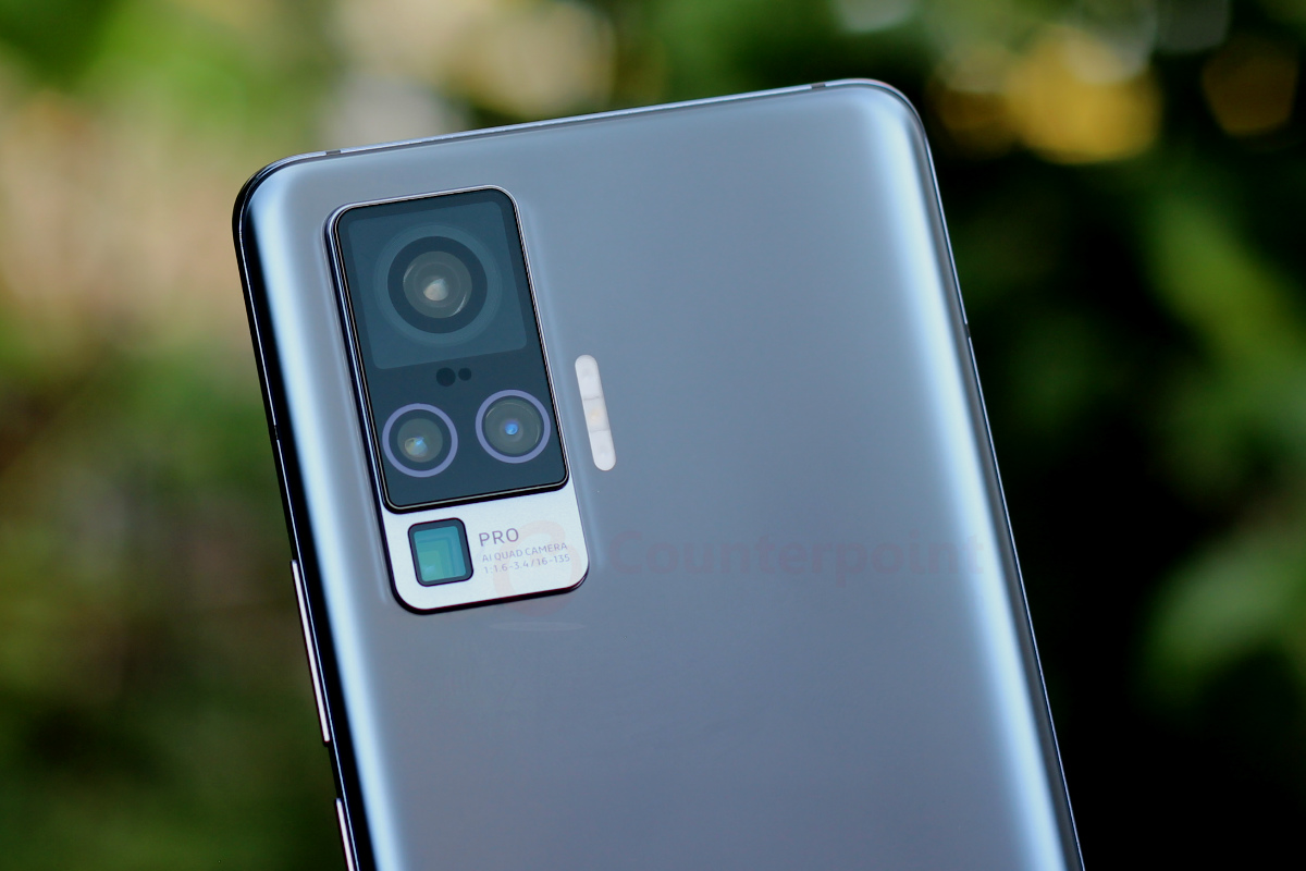 counterpoint vivo x50 pro 5g review cameras