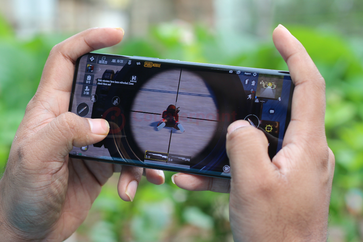 counterpoint vivo x50 pro 5g review gaming