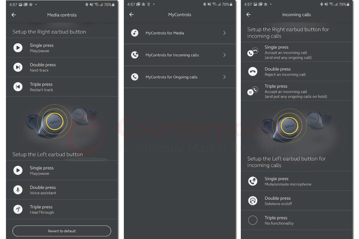 jabra sound plus app controls
