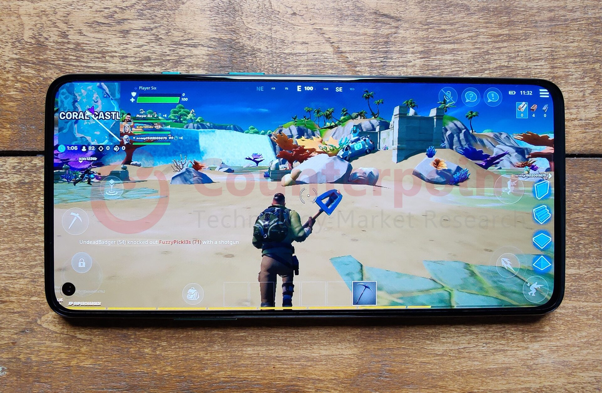 Fortnite on the OnePlus 8T