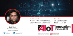 AIoT Innovation Forum 2020: Virtual Event