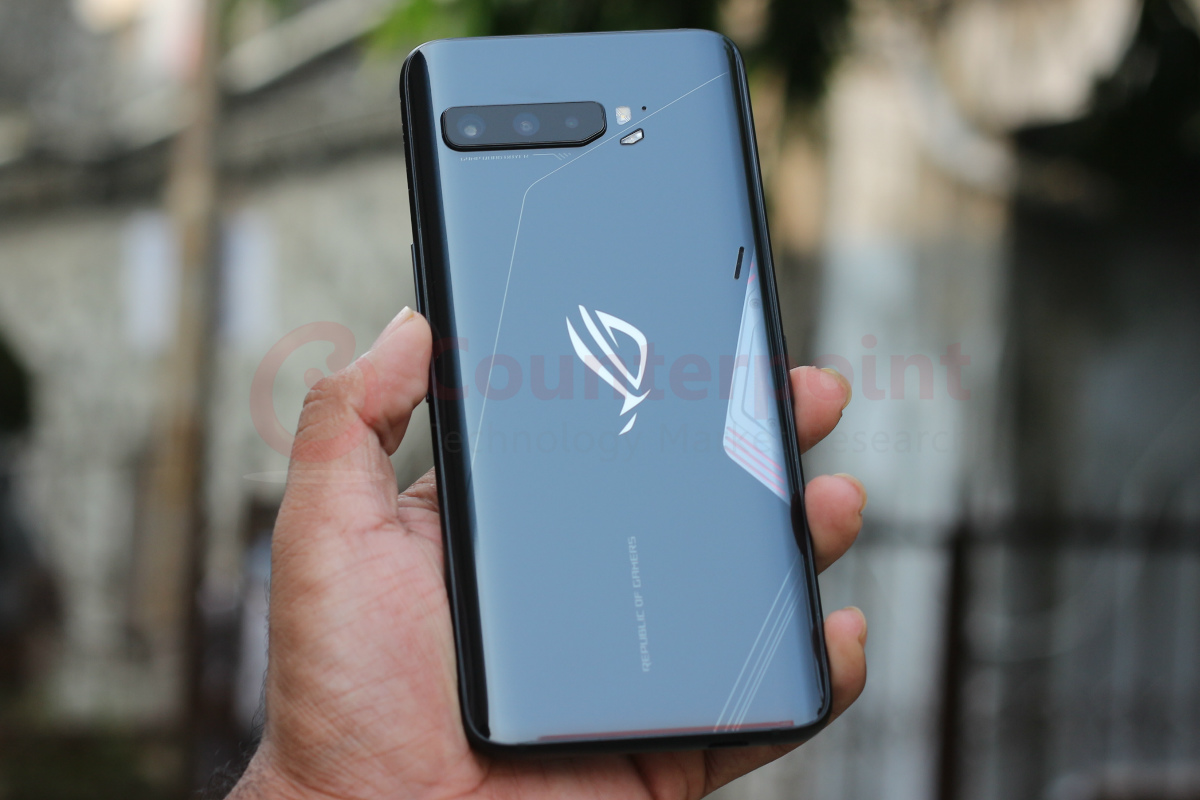 counterpoint asus rog phone 3 review back