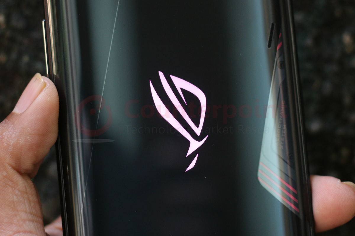 counterpoint asus rog phone 3 review logo