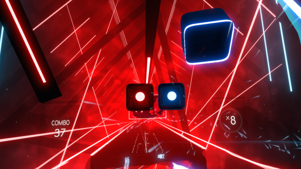 Counterpoint Oculus Quest 2 Beat Saber Gameplay
