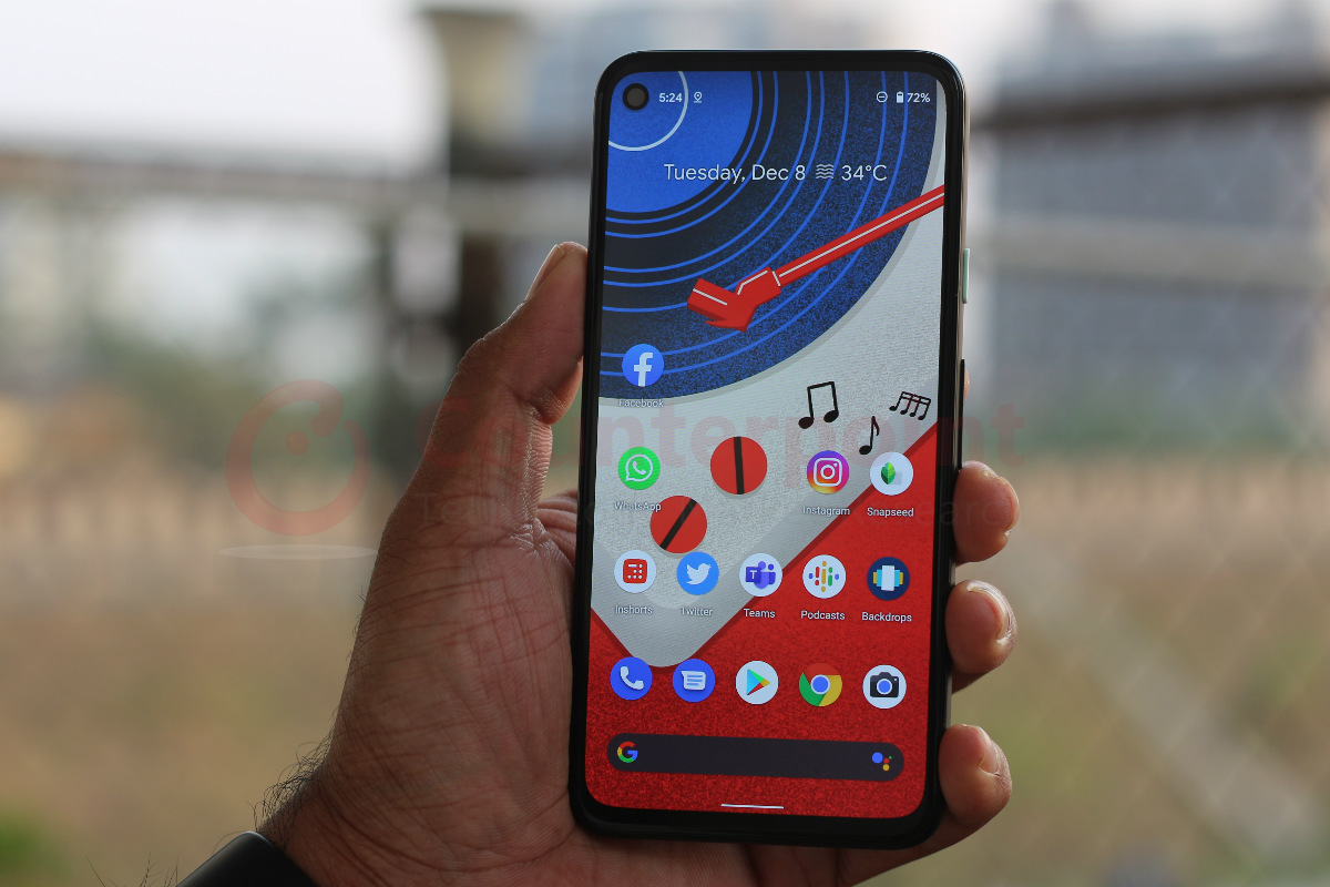 counterpoint google pixel 4a review front