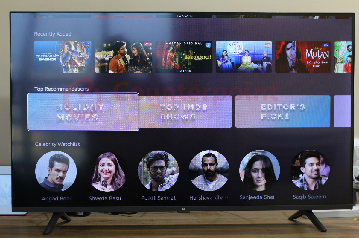 counterpoint mi tv horizon live tv editors choice