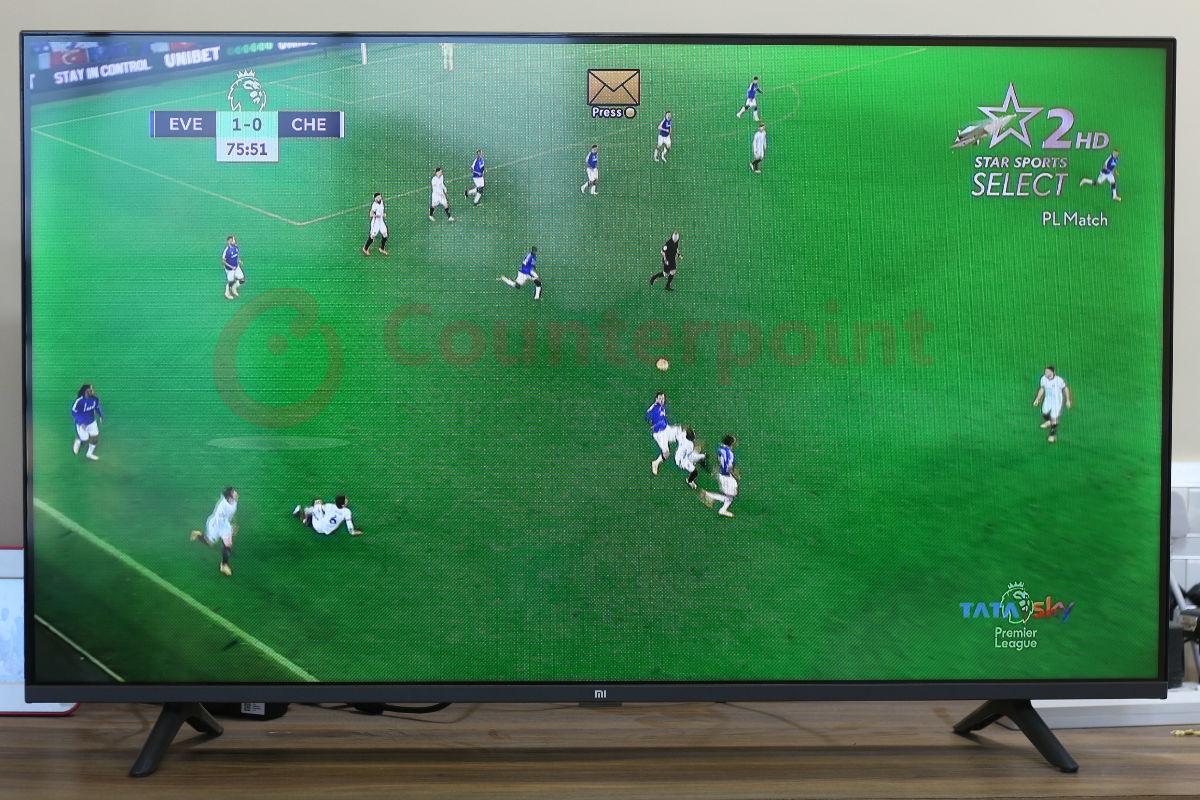 counterpoint mi tv horizon sports