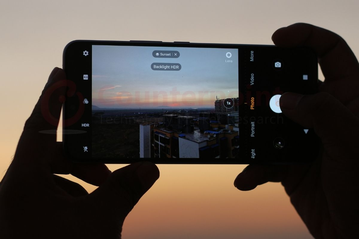 counterpoint vivo v20 pro 5g review camera ui
