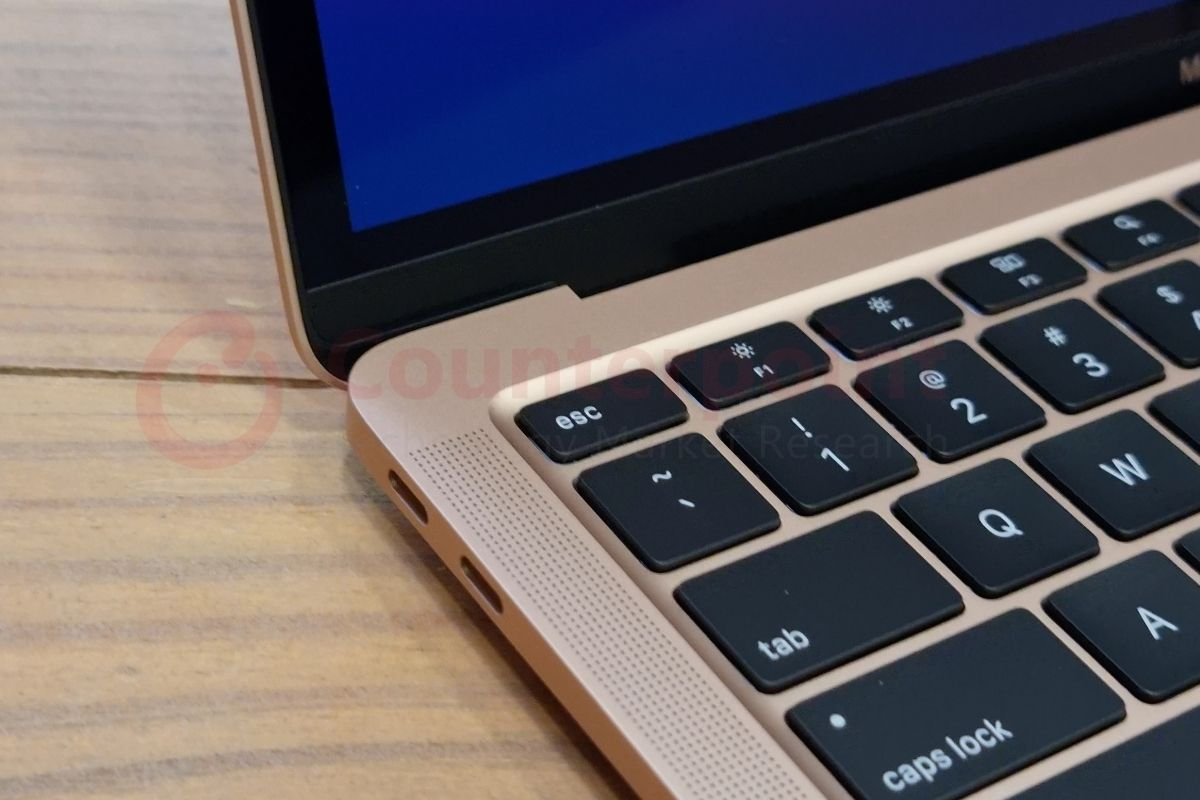 counterpoint macbook air m1 first impressions ports