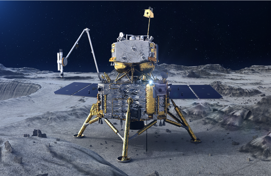 The Chang'e 5, China's first lunar sample-return mission