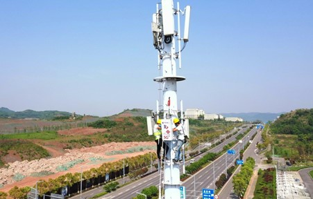 China will set up 600,000 5G base stations in 2021