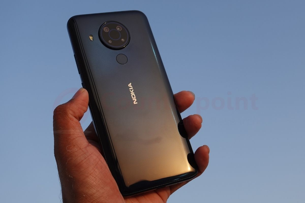 counterpoint nokia 5.4 review back