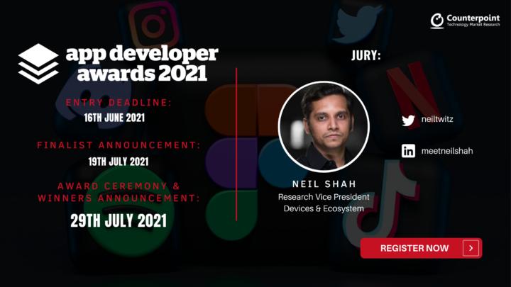 App Developer Awards 2021 - Neil