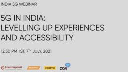 Counterpoint realme India webinar