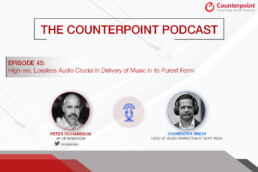 counterpoint podcast guest sony lossless audio