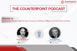 counterpoint podcast with perceive edge ai chips