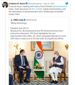 Twitter - Qualcomm & India Discussions
