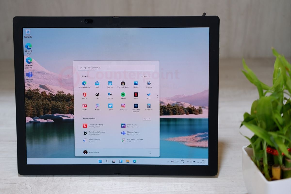 counterpoint lenovo thinkpad x1 fold review tablet